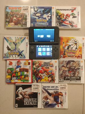 Nintendo 3DS WITH GAMES for Sale in SUNNY ISL BCH, FL