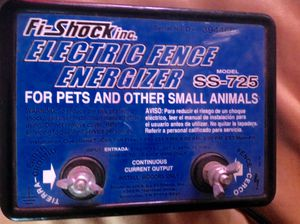 Fi shock fence energizer for pets for Sale in Chula Vista, CA