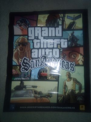 GTA SAN ANDREAS POSTER for Sale in Tempe, AZ