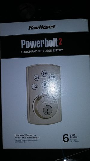 Kwikset Powerbolt 2 for Sale in Los Angeles, CA