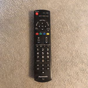 Panasonic Remote For Tv for Sale in Issaquah, WA