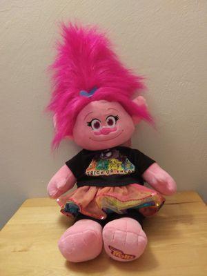 New Build a Bear - Poppy the Troll for Sale in Norfolk, VA