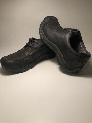 Keen Men's Black Leather Portsmouth II Shoes #1013961 Size 10 for Sale in San Leandro, CA