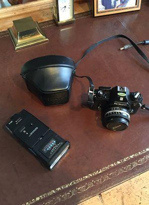 Nikon EM slr film camera for Sale in Atlanta, GA
