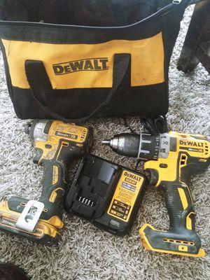 dewalt xr 20v max drills brushless motor pick up only 120$firm for Sale in Houston, TX