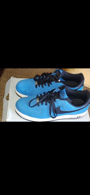 Nike Air Force 1 Millitary Blue size 12 for Sale in Chino, CA
