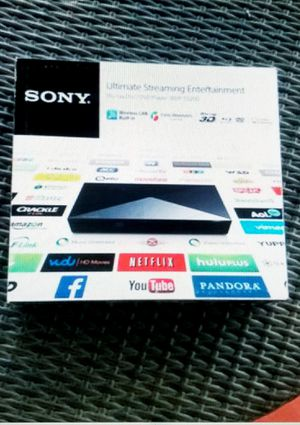 Sony Blu-Ray With Wi-FI With 200+ Apps for Sale in Pompano Beach, FL