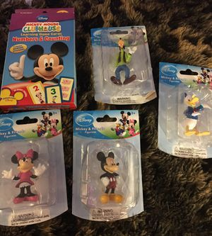 Disney Mickey Mouse Clubhouse Mickey and figurines and more for Sale in Greenville, SC