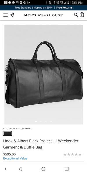 Hook & Albert Weekender Garment & Duffle Bag for Sale in League City, TX