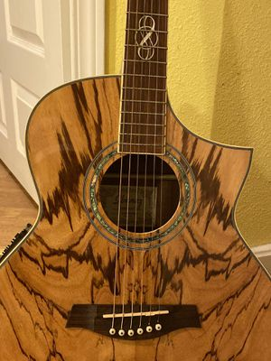 Ibanez exotic wood acoustic electric guitar with built in tuner $900 for Sale in Portland, OR
