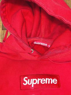 Supreme Box Logo Hoodie (red) for Sale in Germantown,  MD