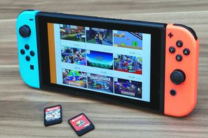 NINTENDO SWITCH with one Game! for Sale in Cartersville, GA
