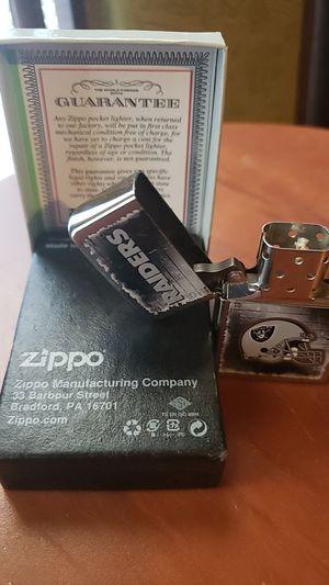RAIDERS ZIPPO LIGHTER for Sale in Fresno, CA
