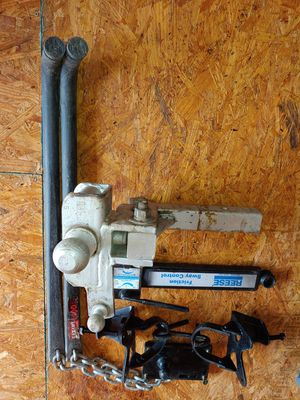 10,000 lbs Reese weight distr. Hitch for Sale in Albuquerque, NM