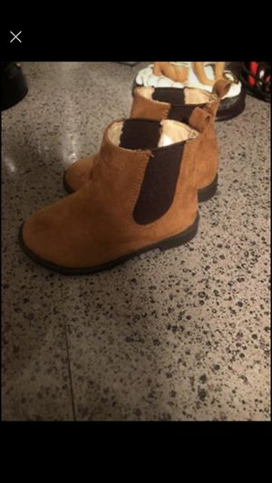 Toddler girl ankle cut brown boot for Sale in Douglasville, GA