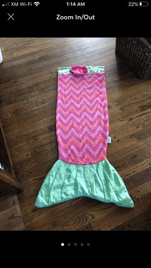 Snuggie Mermaid Tail blanket for Sale in Monson, MA