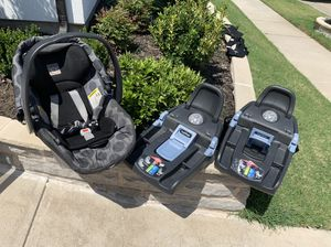 Peg perego car seat with two bases for Sale in McKinney, TX