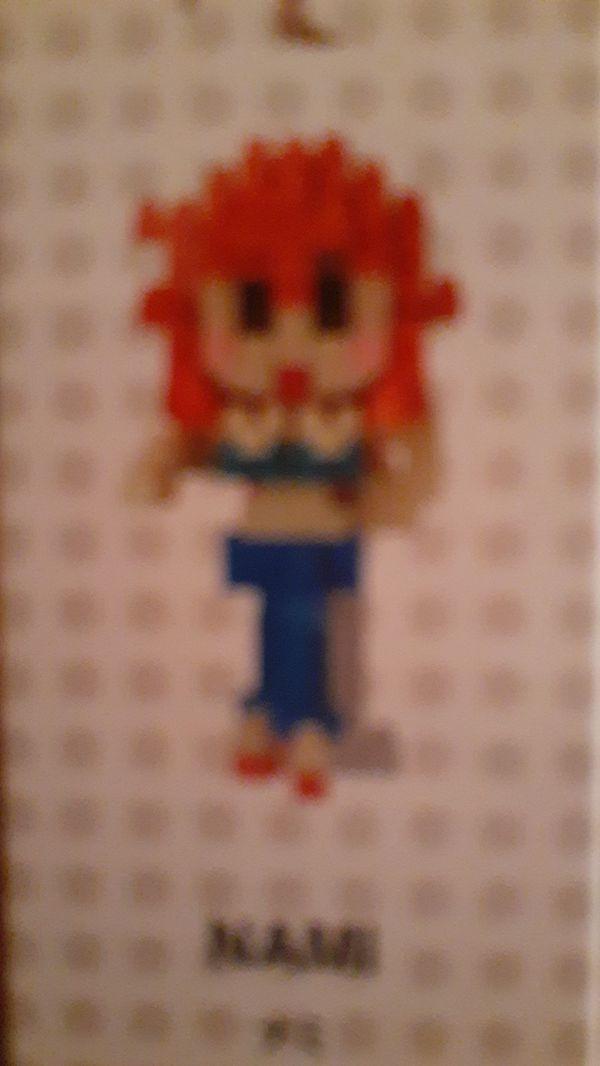 One Piece - Nami - collectible anime nanoblock toy