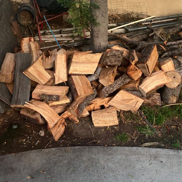 Fire Wood Split And Logs
