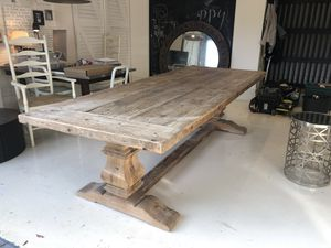 Restauration Hardware Dining Table for Sale in Aventura, FL