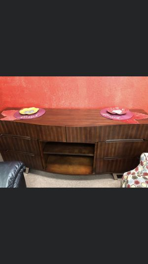 Dimplex Valentina 70-Inch TV Media Console - Burnished Cherry - for Sale in Pasadena, TX