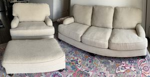 Ashley furniture couch, oversized chair and ottoman for Sale in Nashville, TN