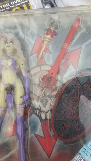 Lady death collectable toy in unopened package for Sale in Boca Raton, FL