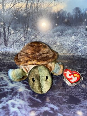 Limited edition Original TY Speedster the Sea Turtle Beanie Baby. for Sale in Bellflower, CA