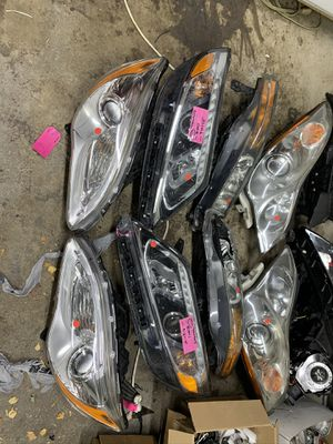 Car headlights for parts for Sale in Naperville, IL