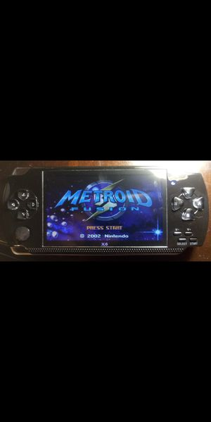 4.3 inch screen Handheld Portable Game Console METROID FUSION AND 10,000 Free Games, for Sale in Miami, FL