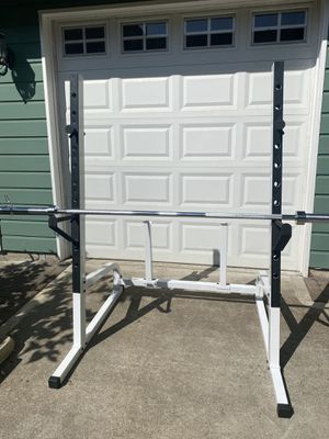 Squat Rack - Olympic Barbell sold separately for Sale in Snohomish, WA