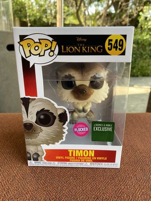 Funko Pop Timon Flocked Disney The Lion King Barnes & Noble Exclusive for Sale in Los Angeles, CA