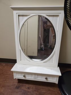 Wall shelf with mirror for Sale in Boston,  MA