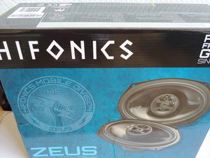 Car speakers :) HIFONICS 6×9 3 way 400 watts car speakers new for Sale in Bell Gardens, CA