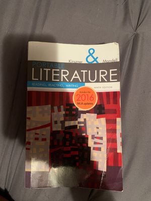 Portable Literature Ninth Edition for Sale in Somerset, TX