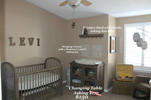 Changing Table & Decor for Sale in Sandy, UT