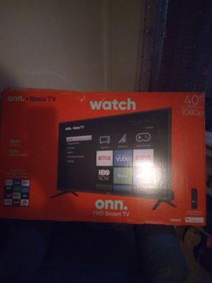 ROKU 1080p 40in smart TV for Sale in Elmira, MI