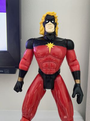 "Vintage 1997 Toy Biz Marvel Universe Captain Marvel Action Figure 10"" Tall for Sale in Fayetteville, NC"