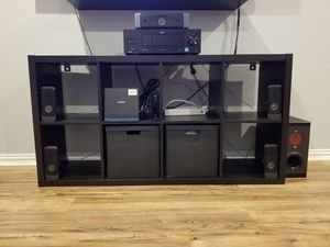 RCA home theater 5.1, comes with remote , Dolby digital pro logic II , really good conditions, good bass really loud , has optical audio port and aux for Sale in Dallas, TX