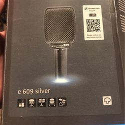 New Sennheiser E609 Silver Microphone for Sale in Clackamas,  OR