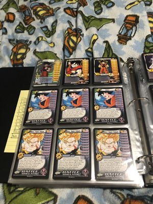 Dragon Ball Z card collection for Sale in Hudson, OH