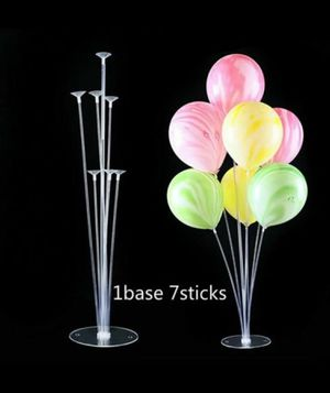 (10 Stands) Balloon-Stand for Party Decorations, Wedding decorations, Birthday, Graduation, Gender reveal Parties for Sale in Houston, TX