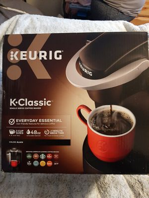 Keurig classic coffee maker for Sale in Salt Lake City, UT