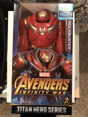 Marvel Infinity War Titan Hero Hulkbuster for Sale in Westbury, NY