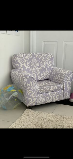 Kids armchair with ottoman for Sale in Coral Gables, FL