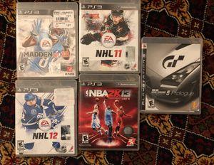 PS3 GAMES for Sale in Ashburn, VA