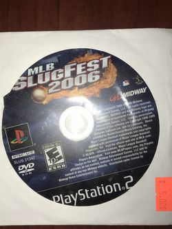 MLB SlugFest 2006 PS2 for Sale in Lakewood,  CA