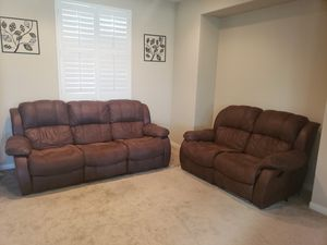 Sofa and Loveseat for Sale in Romoland, CA