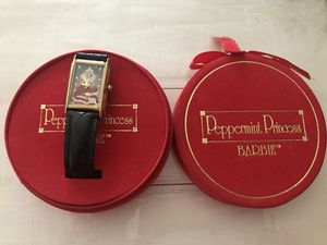 Limited edition Barbie fossil watch-Peppermint Princess for Sale in San Jose, CA