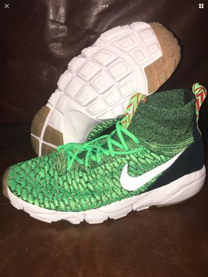 Nike Air Footscape Magista Free Flyknit Green Gum Russell Wilson Seahawks Men's 10.5 for Sale in Olympia, WA